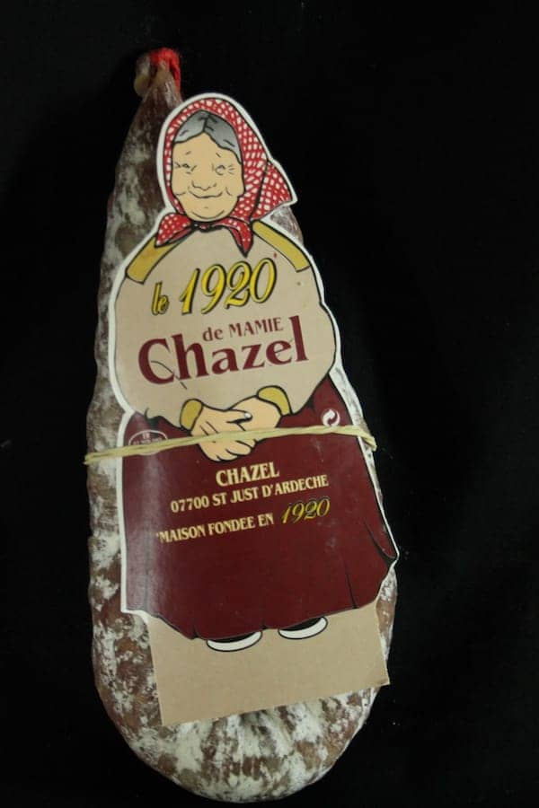 La courbe de mamie Chazel