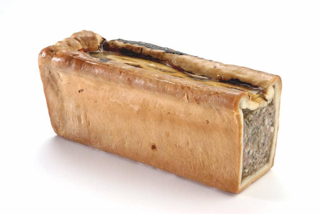 Pâté croûte à la caillette