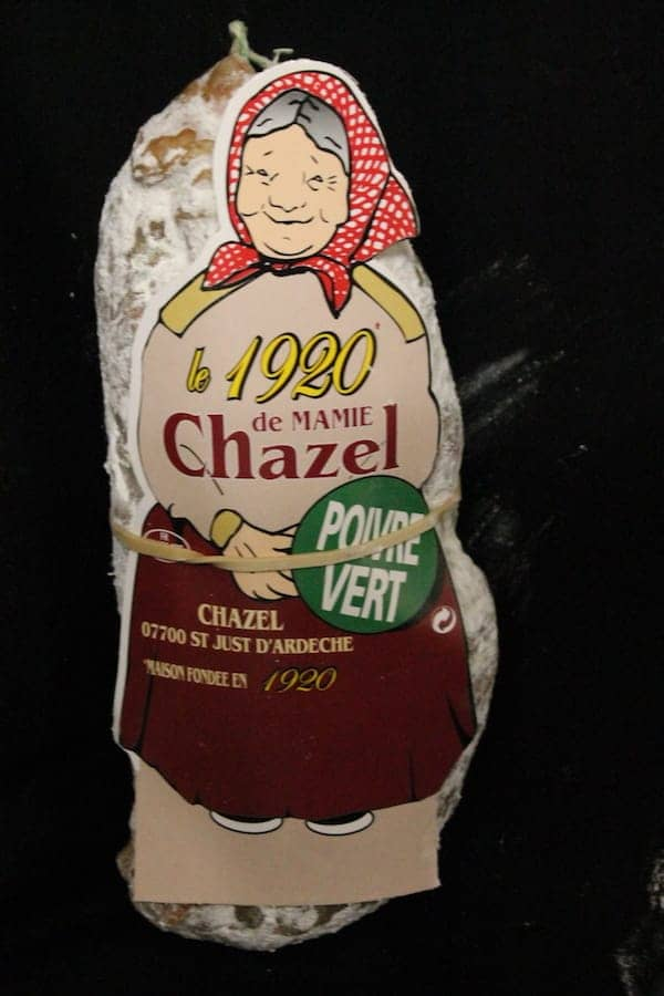 Saucisson Mamie Chazel