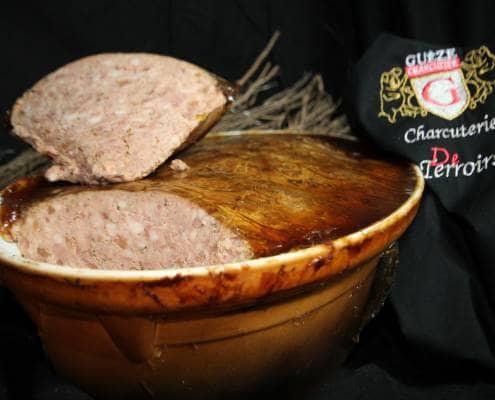 Pâtés et terrines des salaisons Guèze Ardèche